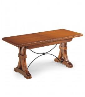 Tavolo da pranzo allungabile con gambe ad Y