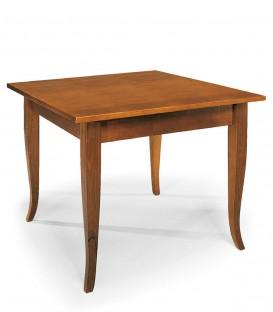 Tavolo rettangolare fisso piedi a sciabola