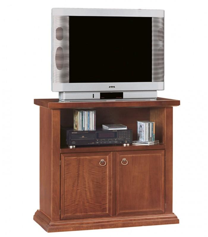 Mobile porta TV legno arte povera 2 ante - Spazio Casa