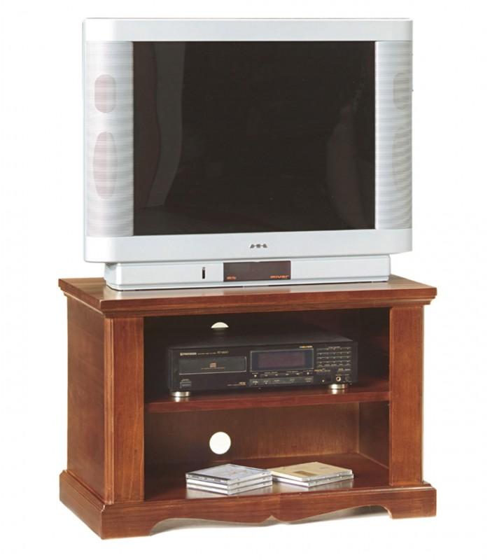 Porta tv legno noce arte povera 1 ripiano spazio casa - Ripiano porta tv ...