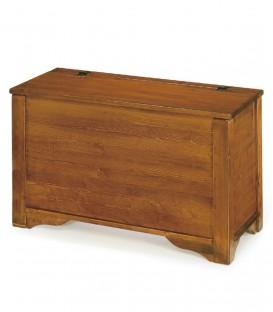 Cassapanca in legno 85 x 41 h. 52 cm