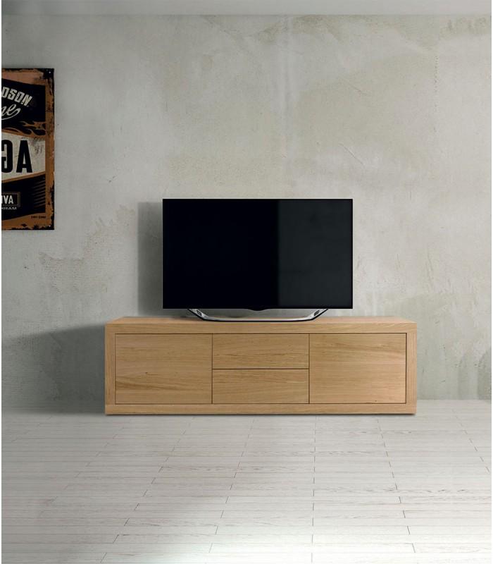 Porta TV Moderno rovere - Spazio Casa