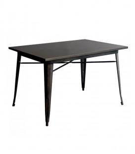 Tavolo TOLIX rettangolare in acciaio zincato