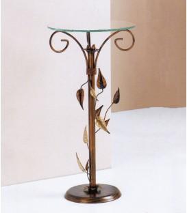 Tavolino alto in ferro battuto