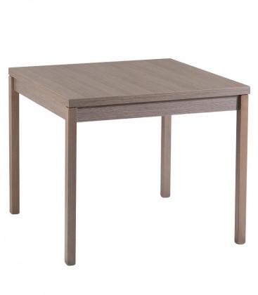 Tavolo quadrato con apertura a libro