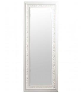 Specchio da parete barocco bianco
