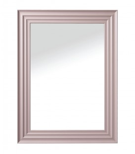 Specchio da parete con cornice smussata