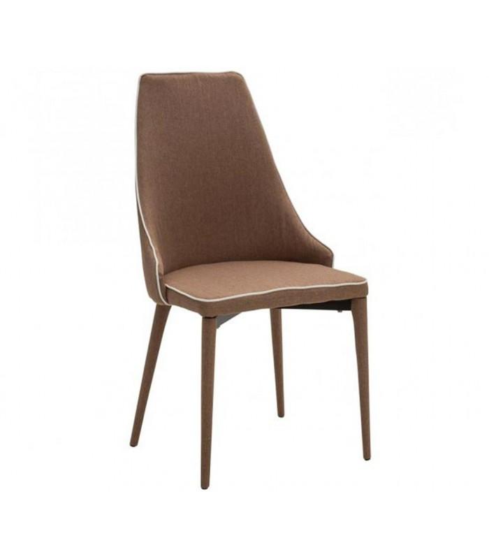 Sedia moderna imbottita in tessuto spazio casa for Sedie tessuto design