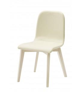 Sedia di Design in Legno e Ecopelle