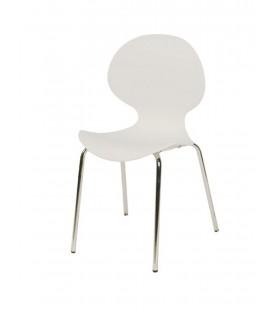 Sedia di Design in polipropilene con struttura in metallo