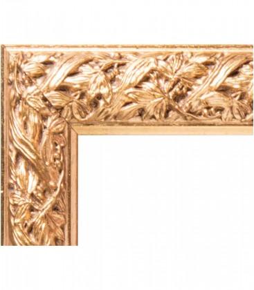 Specchio in legno massello