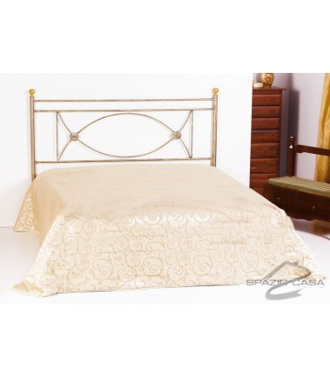 Testata letto in ferro battuto rossana - Cuscini testata letto ferro battuto ...