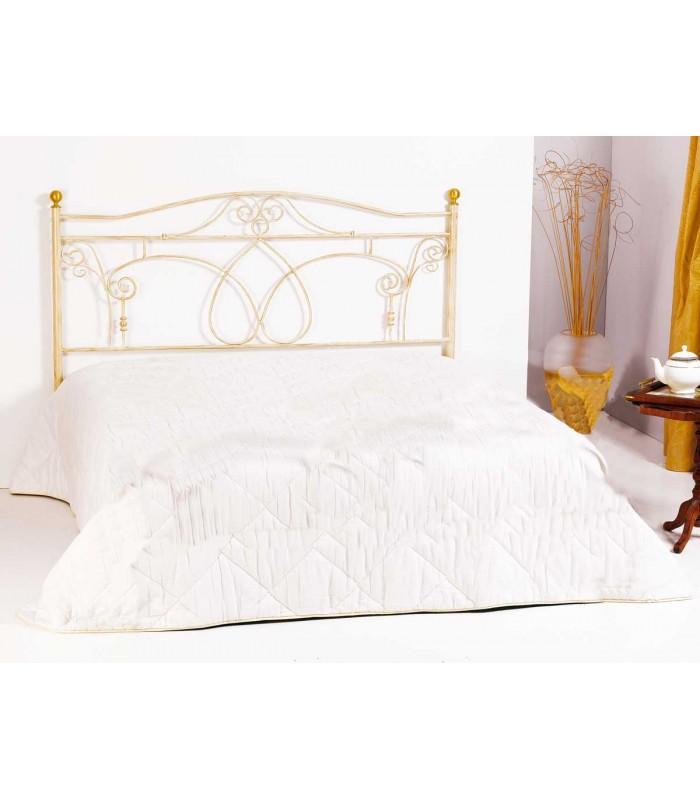 Testata letto matrimoniale in ferro battuto ester spazio casa - Testate letto matrimoniale ...