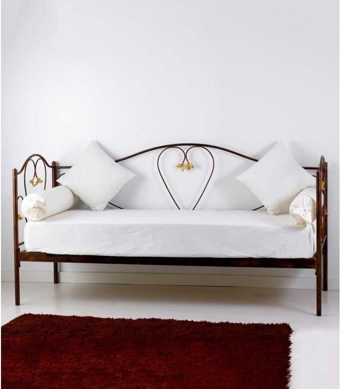Divano letto in ferro battuto marilyn spazio casa for Divano ferro battuto