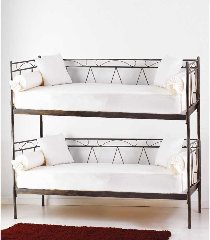 Divano letto a castello in ferro battuto mozart spazio casa - Divano letto singolo in ferro battuto ...