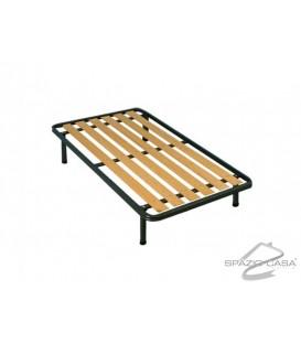Rete alla francese Ortopedica a tavole in legno con Profilo 6 cm