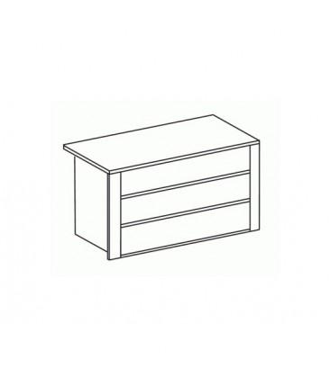 Cassettiera interna armadio 3 cassetti