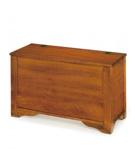 Cassapanca in legno Noce