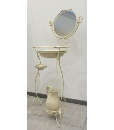 Toilette da Camera Portacatino in Ferro