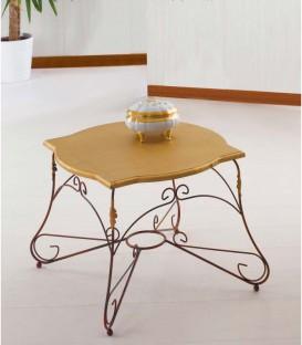 Tavolino da salotto Quadrato Piano Legno Ariel