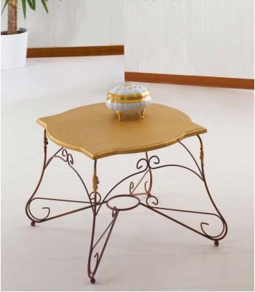 Tavolino da salotto Quadrato Ariel Piano Legno