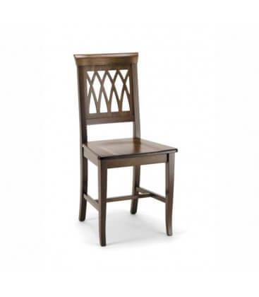 Sedia Treccia seduta massello