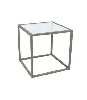 Tavolino da salotto moderno KUBE quadrato