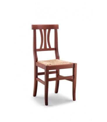 Sedia Vicenza seduta Paglia