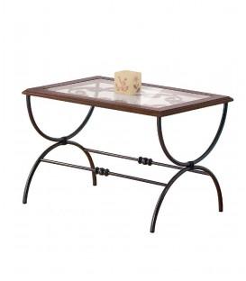 Tavolino da salotto Rettangolare Sidney in Ferro Battuto