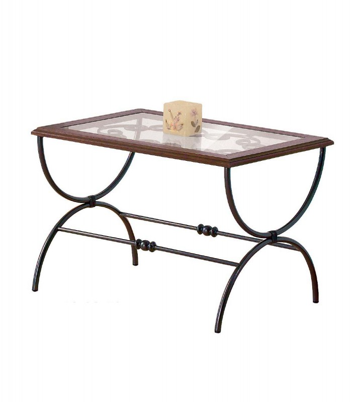 Tavolino Salotto In Ferro Battuto.Tavolino Rettangolare Da Salotto In Ferro Battuto Sidney
