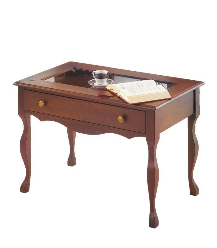 Tavolino Con Cassetti Legno.Tavolino Da Salotto In Legno Con Cassetto Spazio Casa