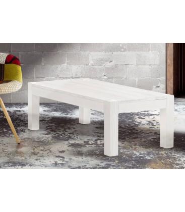 Tavolino in abete bianco spazzolato