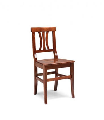 Sedia Vicenza seduta massello