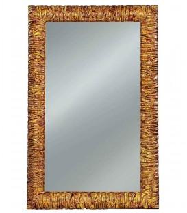 Specchio con Cornice Moderna Bronzo