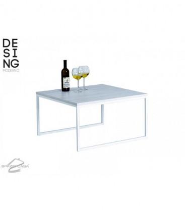 Tavolino da Salotto moderno quadrato DM 75