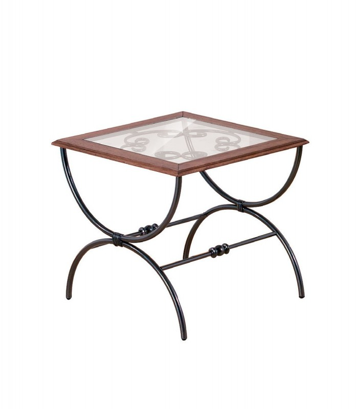 Tavolini Da Salotto In Ferro.Tavolino Da Salotto In Ferro Quadrato Sidney
