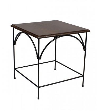 Tavolino da salotto Country piano in legno