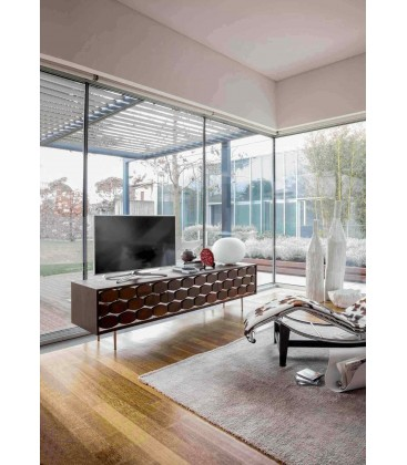 Porta TV Honey Design Moderno Tonin Casa