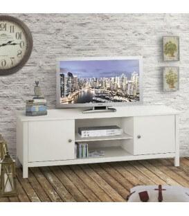 Porta TV mobile basso in legno