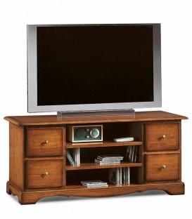 Mobile Porta Tv Classico con 4 cassettini