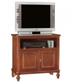 Mobile porta TV legno arte povera 2 ante