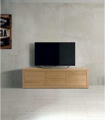 Porta TV Moderno rovere