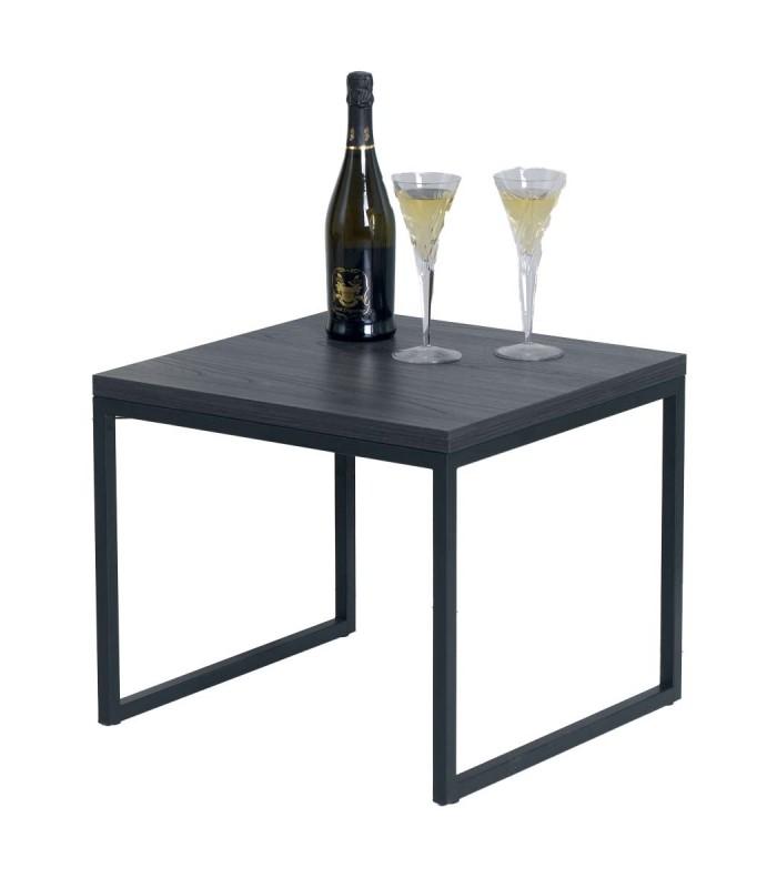 Tavolino Da Salotto Design.Tavolino Quadrato Da Salotto Design Moderno Dm Spazio Casa