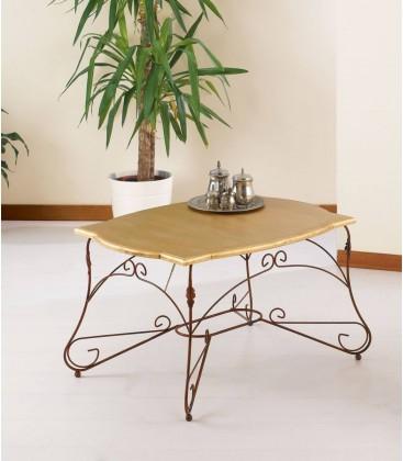 Tavolino da salotto Rettangolare Ariel Piano Legno