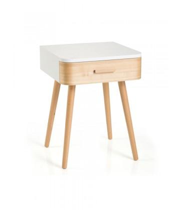 Comodino in legno moderno