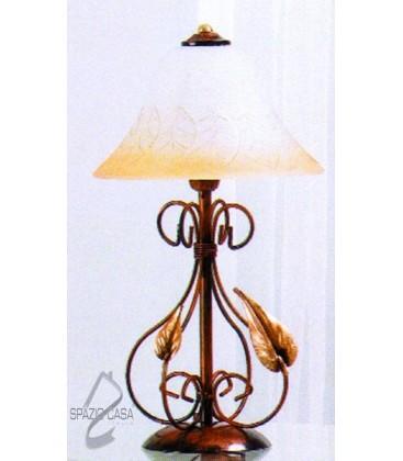 Lampada da tavolo 4P foglie