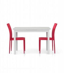Tavolo Allungabile Moderno Bianco Frassinato