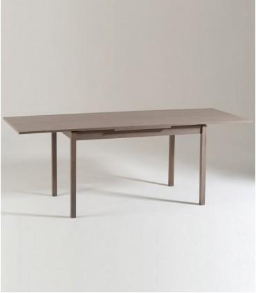 Tavolo rettangolare allungabile moderno Rovere Grigio