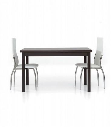 Tavolo rettangolare allungabile moderno Moro Wengé