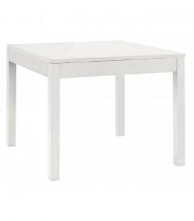 Tavolo Fisso in Legno Quadrato Bianco